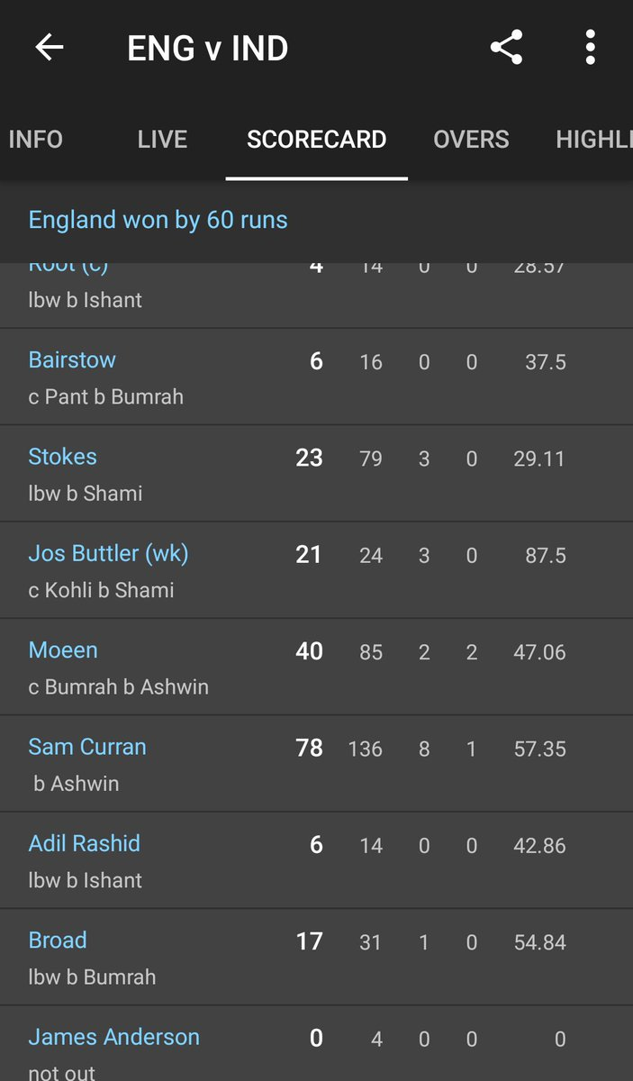 Look at the scores and also the partnership he had with tail. He saved the collapse in first innings. They were 86-6. In 1st match they were 87-7 when he scored 63.I know we were outplayed in 2nd test.