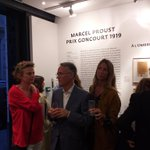 """Image for the Tweet beginning: L'inauguration de l'#exposition """"#Proust, Prix"""