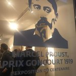 "Image for the Tweet beginning: L'inauguration de l'#exposition ""#Proust, Prix"