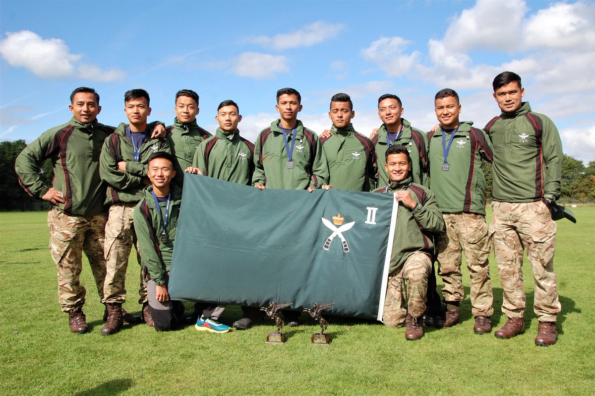 Teams from RGR Royal Gurkha Rifles won both the Run and Military tab team trophies at Catterick. Ayo Gorkhali!
