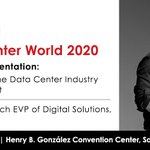 Image for the Tweet beginning: We're looking forward to @DataCenterWorld
