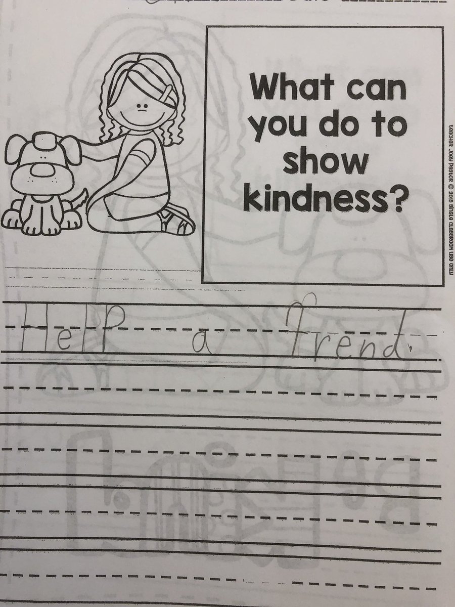 How do you show kindness? 1st grade students share their ideas today in health! #memprek1 #sel #medfieldwellness<br>http://pic.twitter.com/uFSQgiPJgU