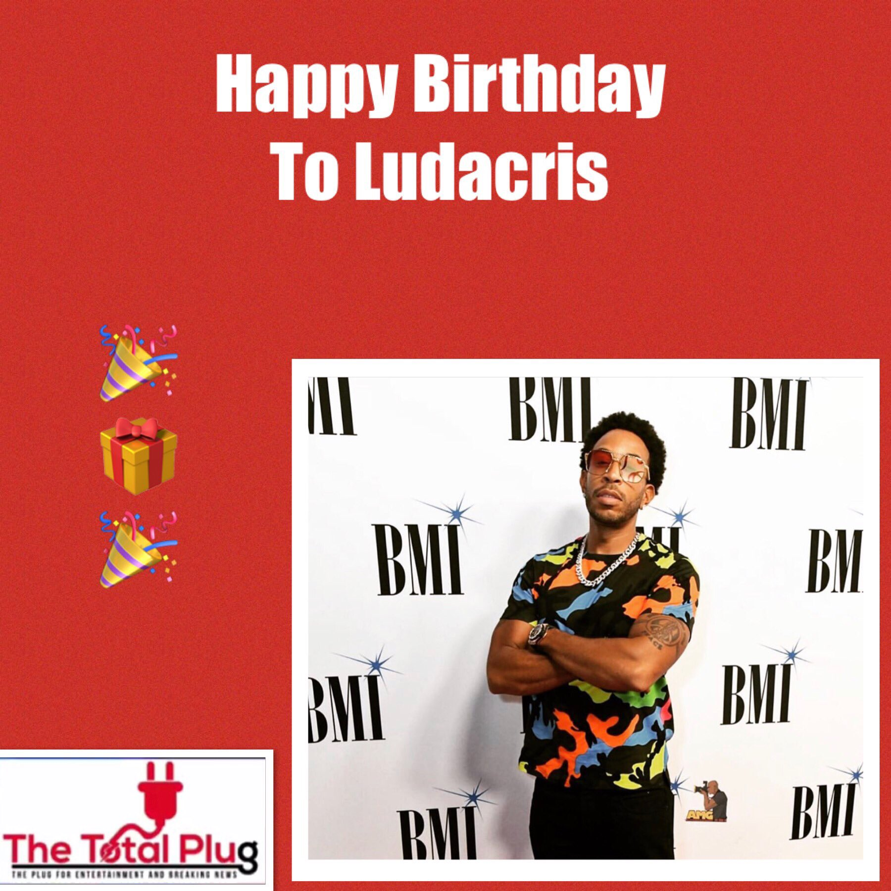 Happy Birthday To Ludacris ....