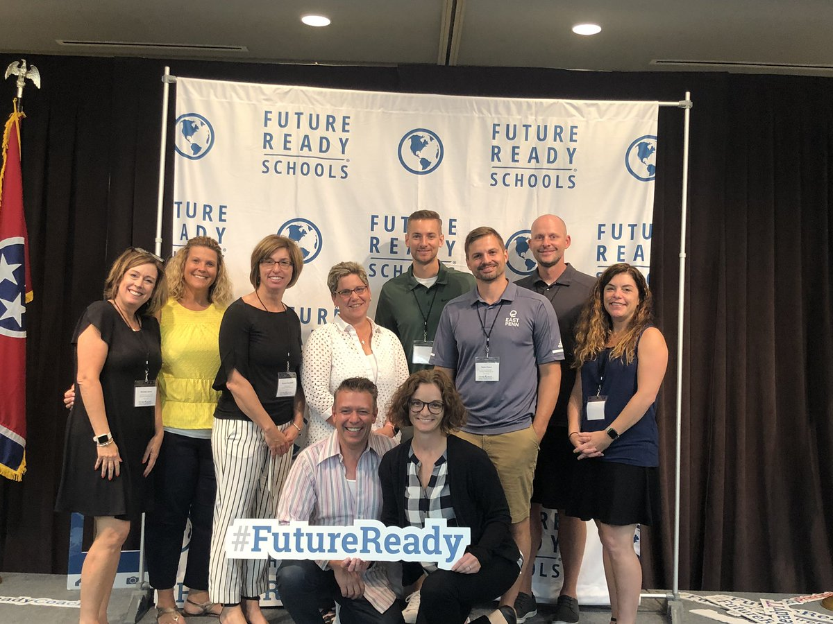 Learning a lot with a great team from East Penn at Future Ready Nashville! #FutureReady
