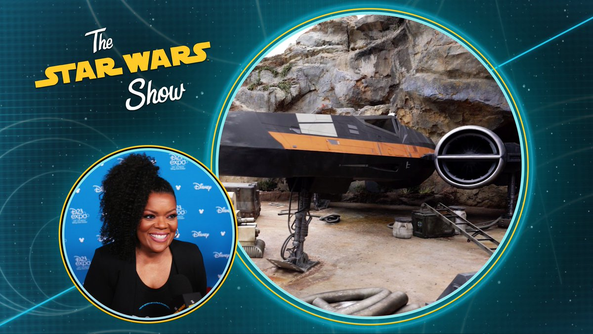 This week on The #StarWarsShow: we get an exclusive first look at Poes X-wing from Star Wars: Rise of the Resistance. Plus, we chat with @DelilahSDawson, @zlikeinzorro, @WillSliney, and @ethanjsacks about details in Star Wars: #GalaxysEdge. Presented by GEICO.