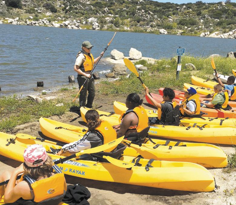 San Diego Parks On Twitter Kayak Around Lake Morena Sunday