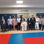 Inauguration à Arc/Tille de la salle Marc Alexandre, champion olympique de judo en 1988 à Séoul. Une belle opération de la municipalité soutenue par le @CD_CotedOr