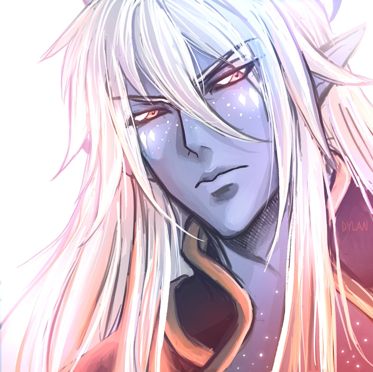 @thedragonprince Happy anniversary! ^___^ Here are a few of my favorite fanarts I have drawn. Haha only Aaravos. Sorry but I love him. 💜 #Aaravos #TDP #tdpart #HappyAnniversary