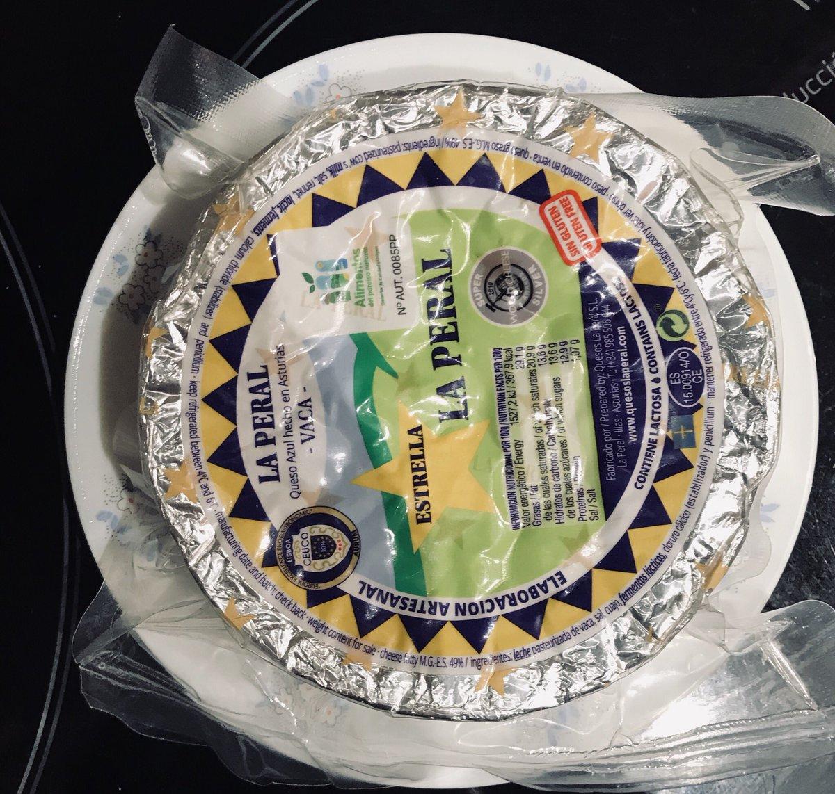 Qué mi primo venga de asturias y me regale mi queso favorito... 😍#comomevoyaponer