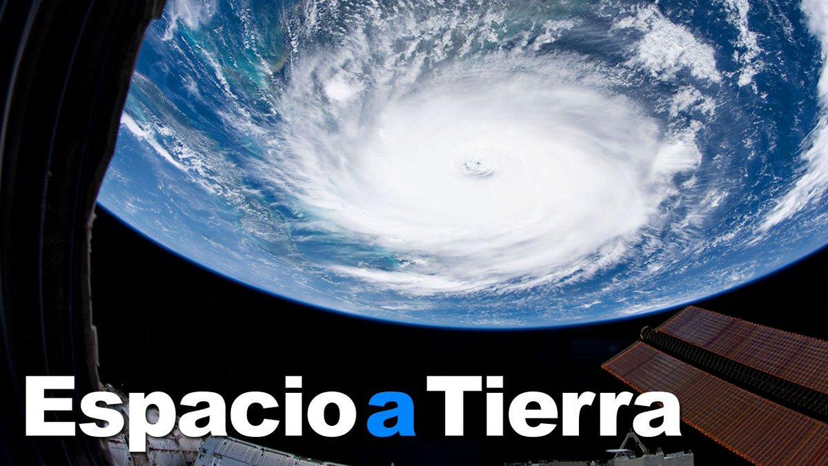 La semana pasada, las cámaras de la Estación se enfocaron en el Huracán Dorian, proporcionando imágenes que proveen valiosa información acerca de las tormentas. Un cohete sin tripulación se desacoplará tras su corta estancia en la Estación. #EspacioATierra