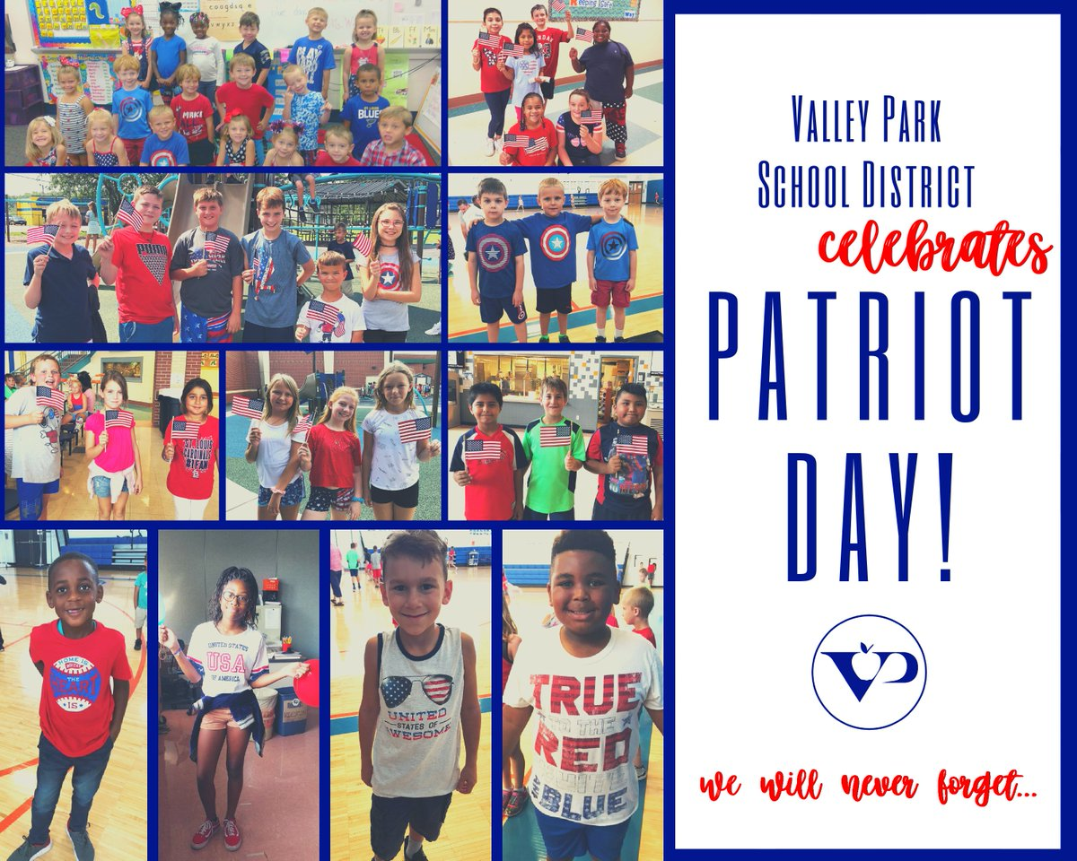 Today, we share our message of love, hope and resiliance. #VPpride #NeverForget #PatriotDay2019