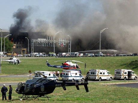 BCCRS units staged alongside the Pentagon