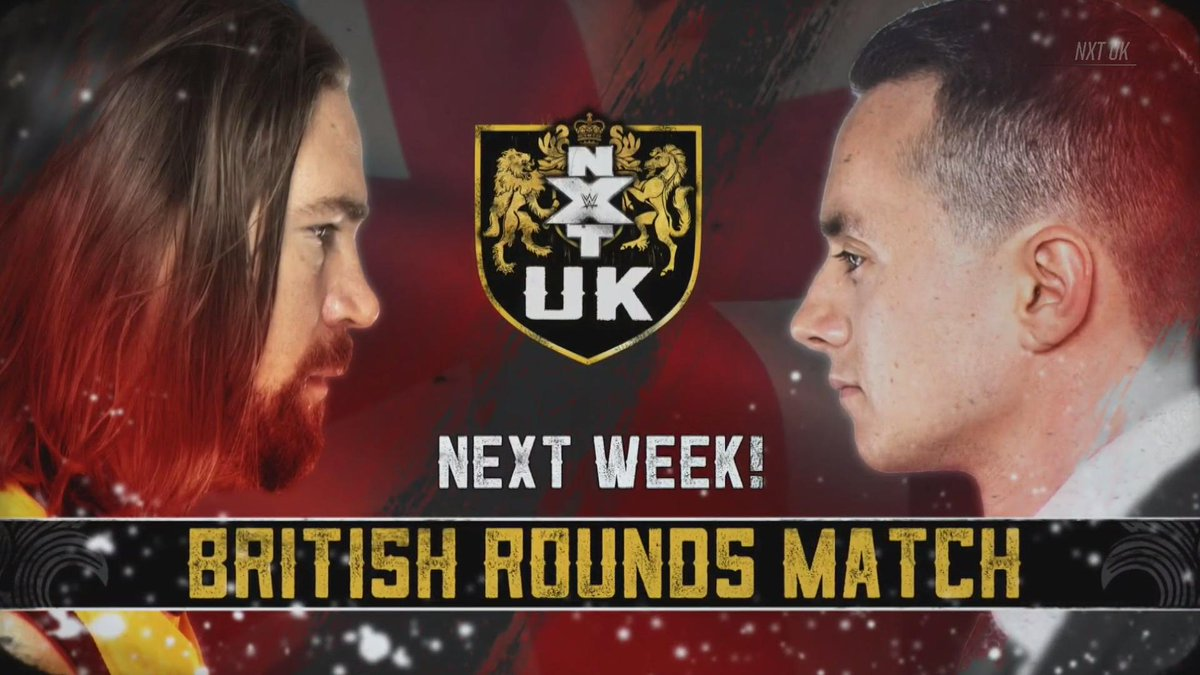 NEXT WEEK: @SidScala goes one-on-one with @KassiusOhno on #NXTUK in a #BritishRoundsMatch!