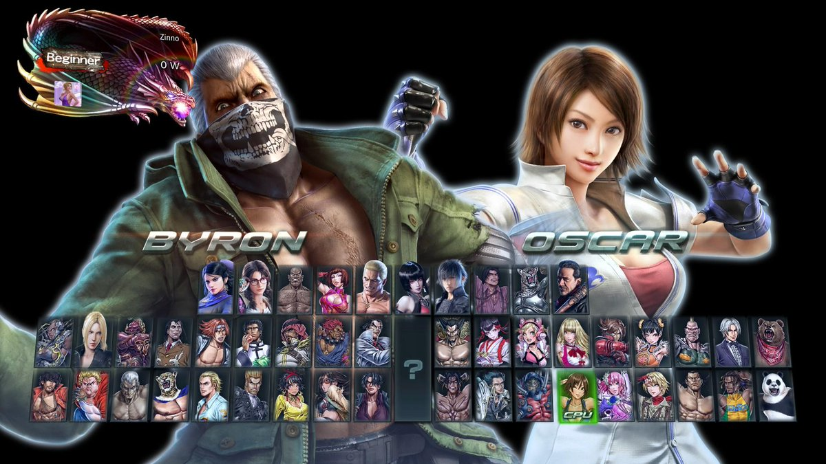 N0pants On Twitter Someone Modified Tekken7 To Display Byron And Oscar S Names Correctly Great Example Of Community Mods Https T Co Thrbosvdyu Https T Co 2vvpzup8pn