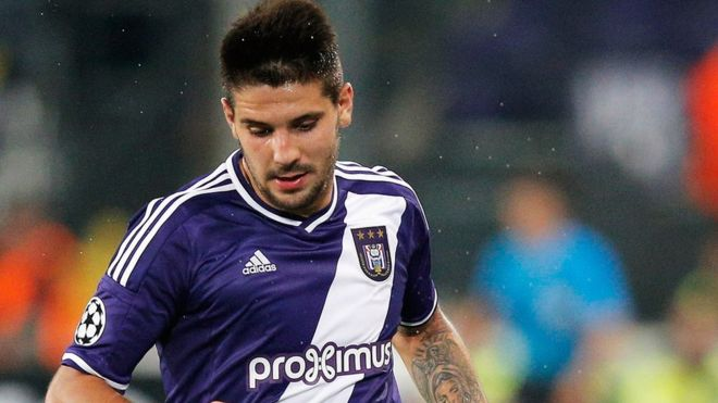 Aleksandar Mitrovics transfer from Anderlecht to Newcastle in 2015 is being investigated as part of an inquiry into alleged fraud involving the transfer of football players. bbc.in/2lImNoK