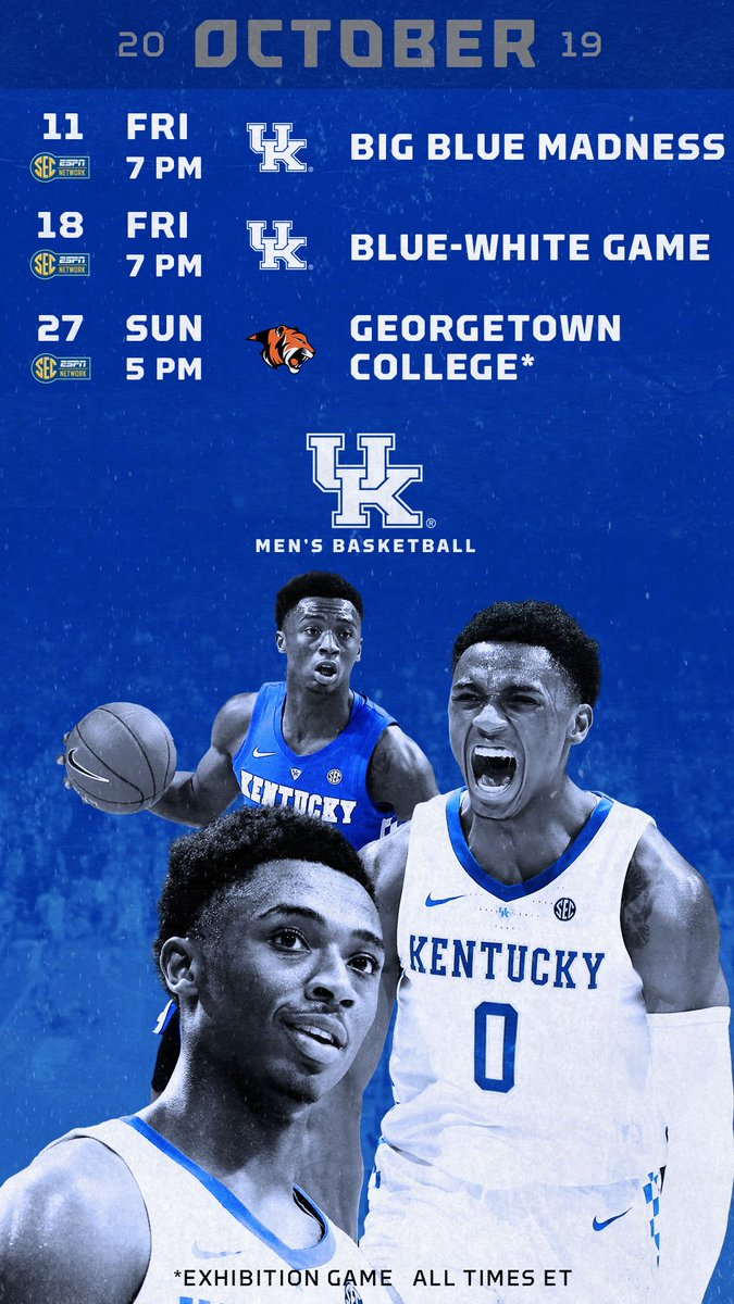 Kentucky Basketball On Twitter Wallpapers By Month For The