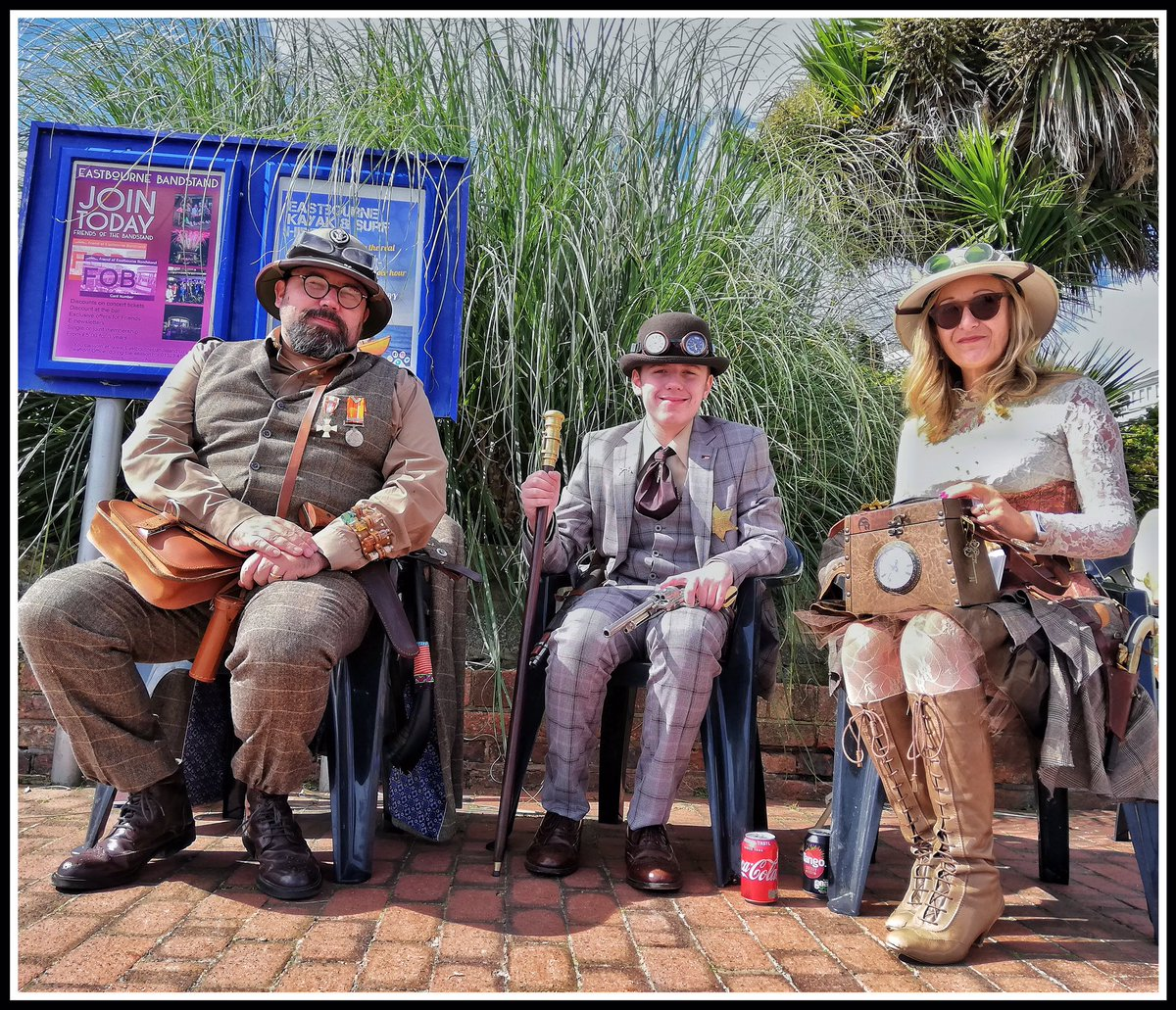 Join Today #SteamPowered #steampunk #Eastbourne #FamilyAffair #photography