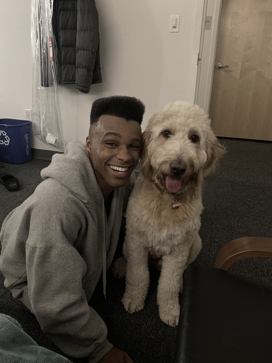 #BTS with good man @dyllonburnside and good boy Oliver! #TBT #PoseFX
