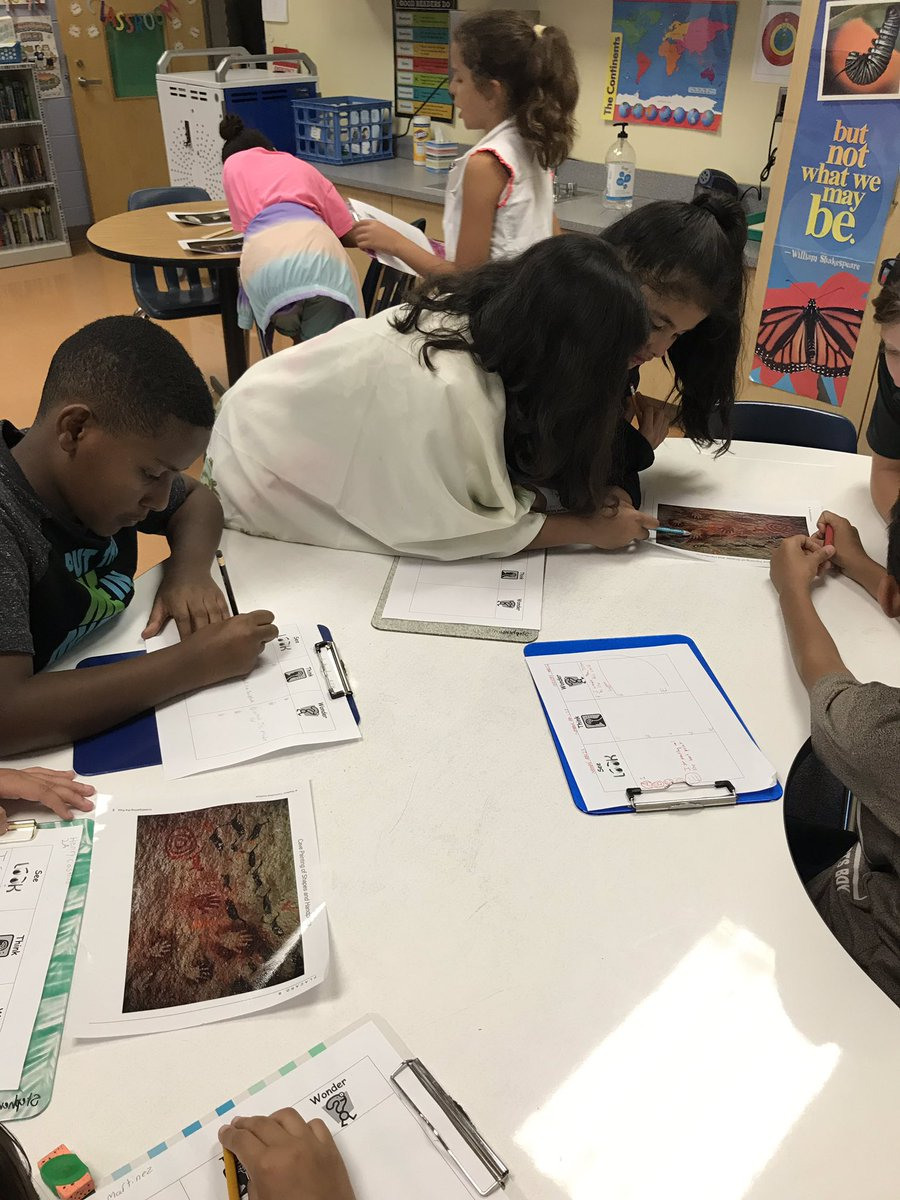 RT <a target='_blank' href='http://twitter.com/MsStephensonCS5'>@MsStephensonCS5</a>: Fifth graders used the See/Think/Wonder routine to interpret cave paintings today! <a target='_blank' href='http://twitter.com/apscspr'>@apscspr</a> <a target='_blank' href='https://t.co/X2GyOZw77V'>https://t.co/X2GyOZw77V</a>