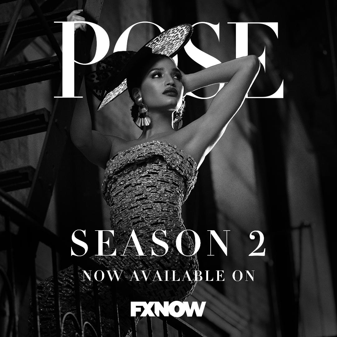 Spread those wings, and fly into season 2 of #PoseFX, available on FXNOW.