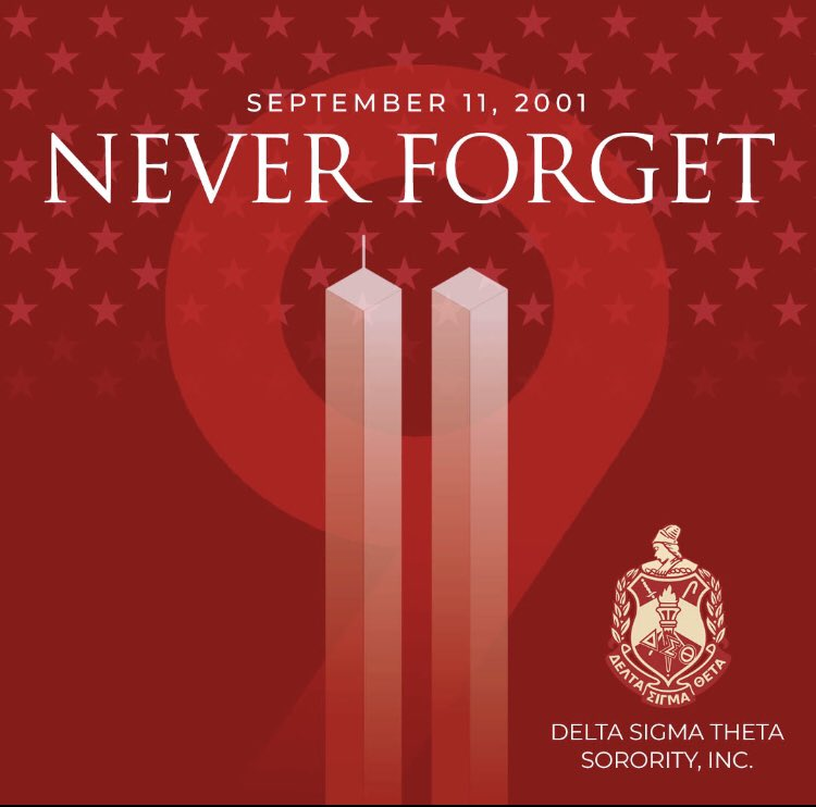 May we never forget the events of this day but let us always honor the lives lost through our continuous acts of service. #ServiceInOurHeart #DST1913 #911memorial<br>http://pic.twitter.com/4EeAqyul0k