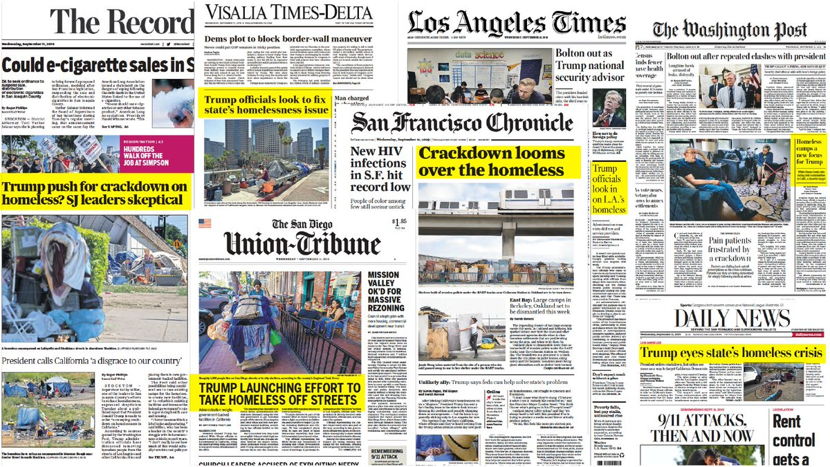 Issues of homelessness and affordable housing are on the front page of papers across the country – let's hear about it on the debate stage! @GStephanopoulos @LinseyDavis @DavidMuir @jorgeramosnews #DemDebates #OurHomesOurVotes2020