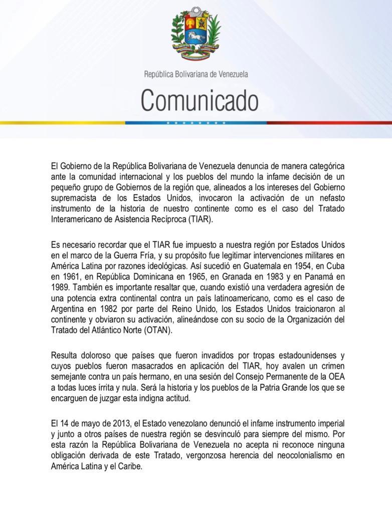 Esequibo - Gobierno (interino) de Juan Guaidó - Página 26 EENhfLeWsAI151e