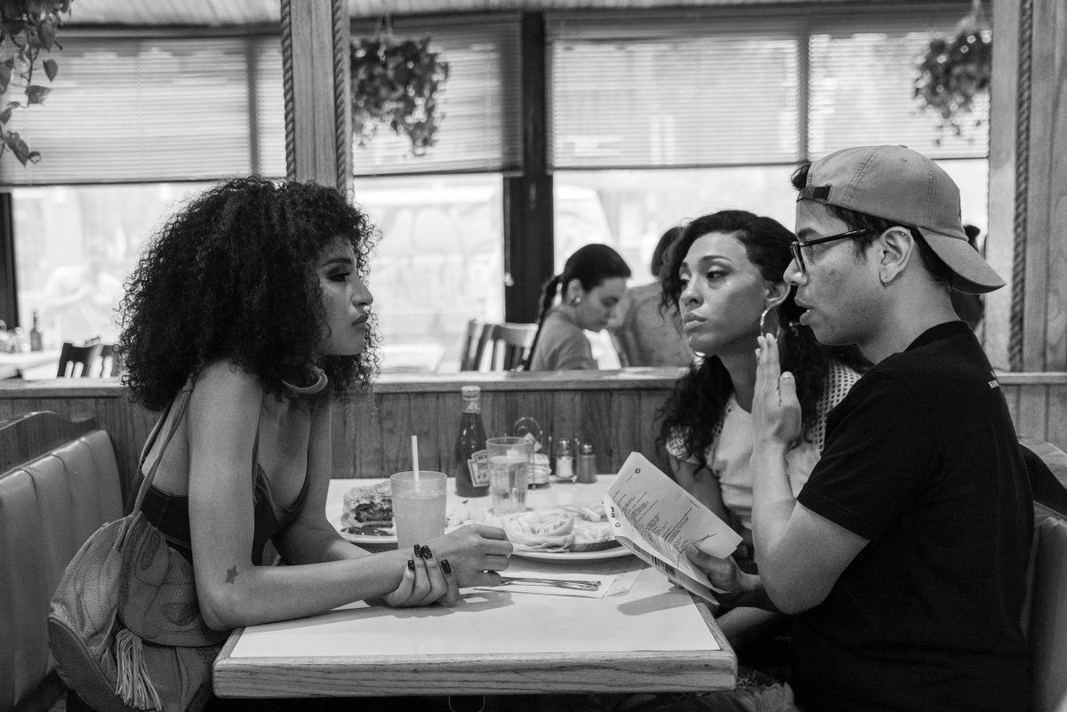 The process of good television starts with good directing. #BTS with @StevenCanals @IndyaMoore @MjRodriguez7 #TBT #PoseFX