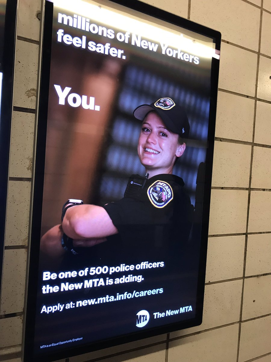 """MTA hiring 500 transit police to enforce """"quality of life issues"""" nearly doubling current force. @RachaelFauss """"This proposal to hire huge numbers of new MTA cops while basic subway and bus operations are being cut is a bad joke of government dysfunction, waste and cluelessness."""