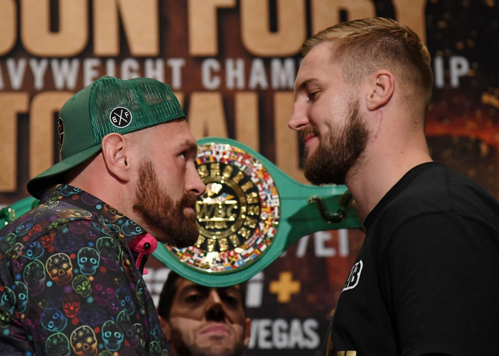 """""""Hopefully we go for a beer afterwards.""""Tyson Fury vowed not to underestimate heavy underdog Otto Wallin.Read more: https://bbc.in/2mdO2rz"""