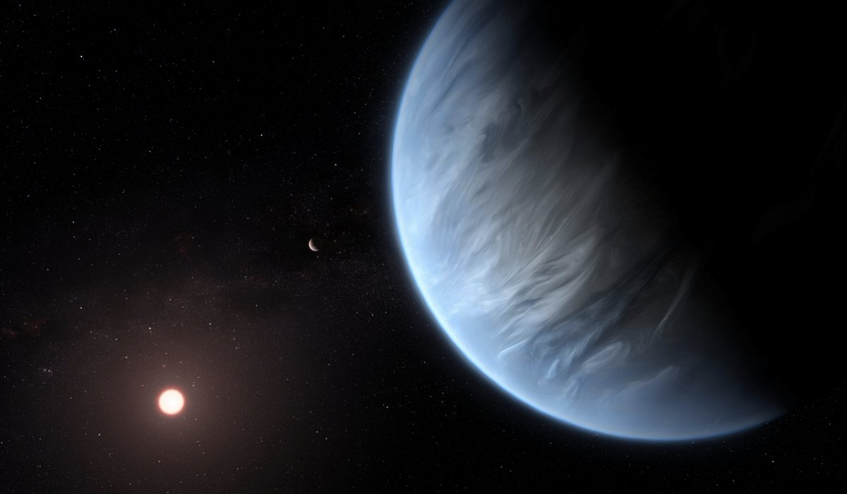'Is the Earth unique?' Water detected in atmosphere of exoplanet
