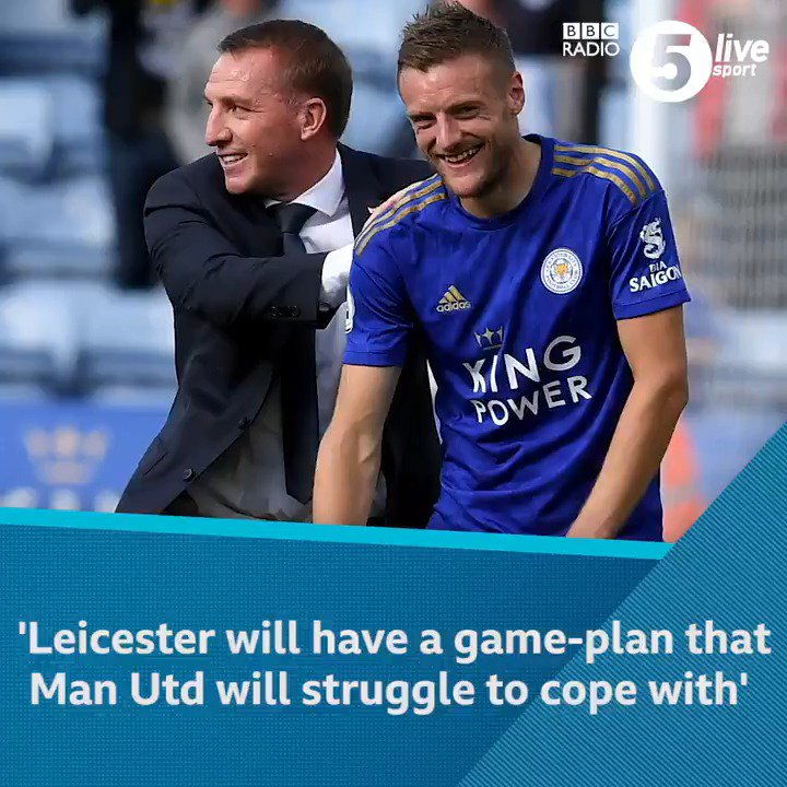 👀 'I'll be surprised if Leicester don't beat Man Utd'@JBurtTelegraph is backing #LCFC to beat #MUFC this Saturday at Old Trafford and believes Brendan Rodgers is getting the best out of Jamie Vardy.Listen to the Football Daily 👇📲⚽️: http://bbc.in/2I2IIxr#bbcfootball