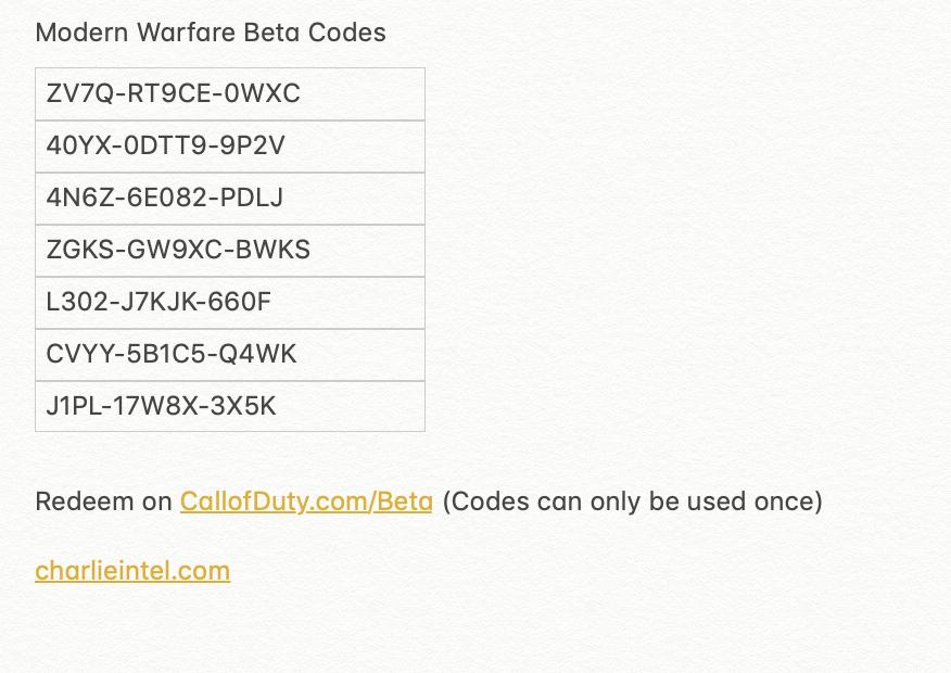 call of duty advanced warfare redeem code free
