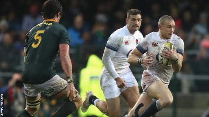 Mike Brown believes he is still England's best full-back despite his World Cup omission, Read more: https://bbc.in/2kc89FH