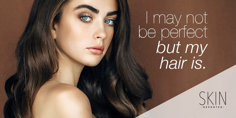 At least my hair is perfect :)  #QuotesForLife #makeup    http://www. skinreporter.wordpress.com    <br>http://pic.twitter.com/uNnjbb2Wro