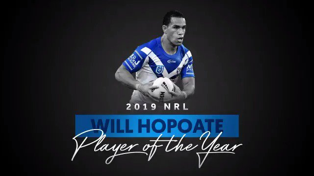 🏉 Hoppa had a night to remember after being named the club's Player of the Year. #proudtobeabulldog