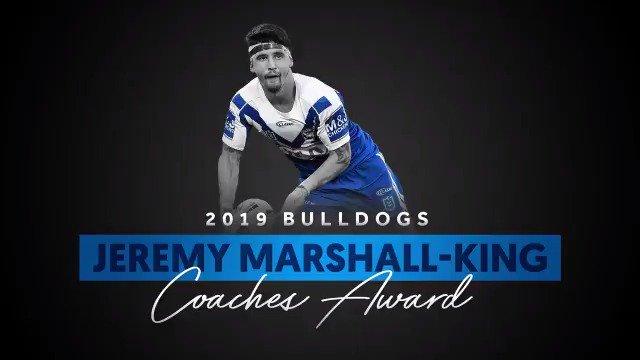 💡 Jeremy Marshall-King was a shining light in the Bulldog's 2019 campaign. #proudtobeabulldog