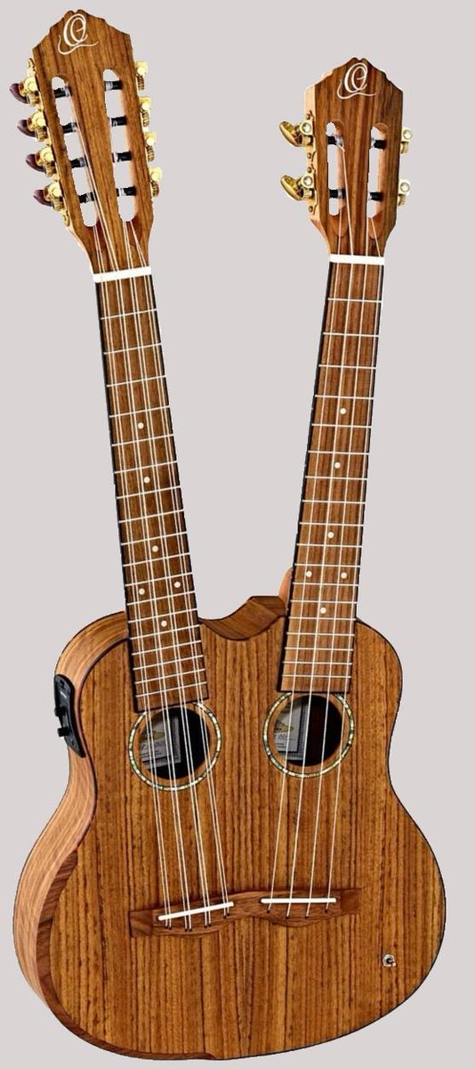 Ortega hydra double neck tenor taropatch ukulele
