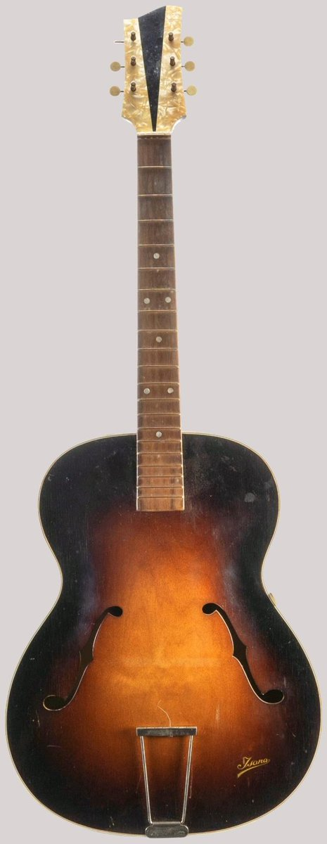 isana archtop guitar