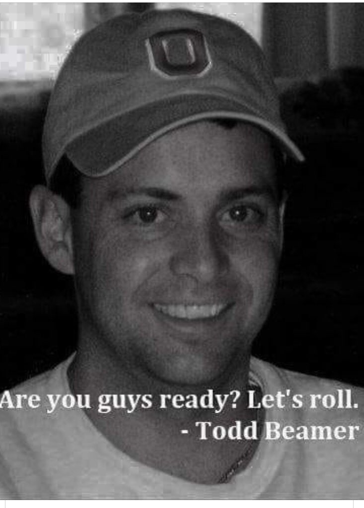 In memory of Todd Beamer, Flight 93, September 11, 2001 <br>http://pic.twitter.com/I5RNoCARzM