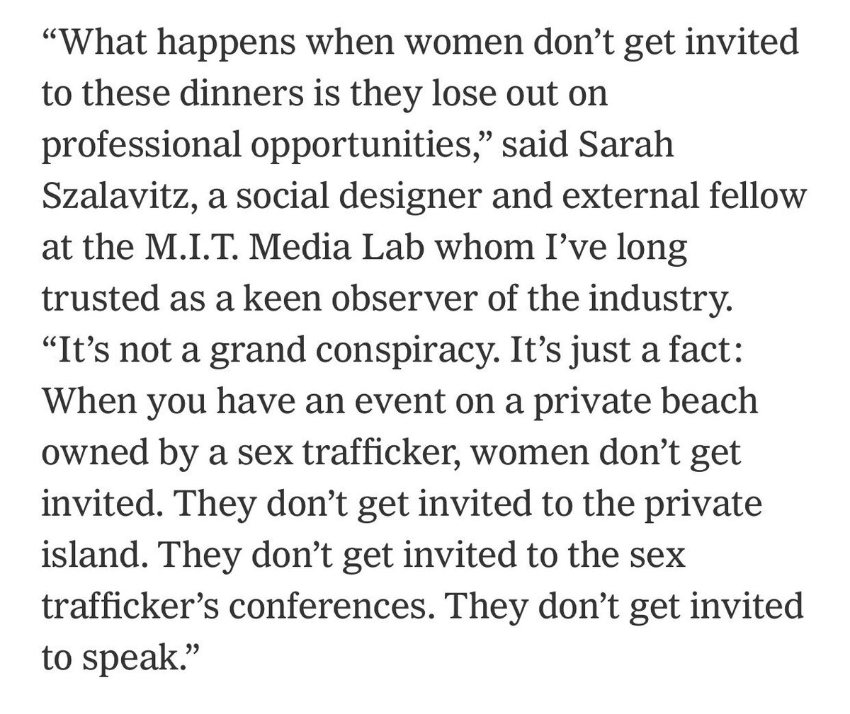 I'm which I quote @dearsarah, who says of Epstein's MIT money: nytimes.com/2019/09/11/opi…