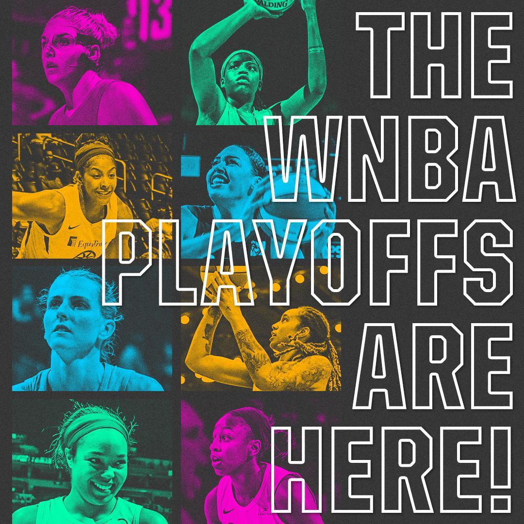 The #WNBA playoffs begin now on ESPN2 📺  @PhoenixMercury vs. @wnbachicagosky (8 ET) @minnesotalynx vs. @seattlestorm (10 ET)