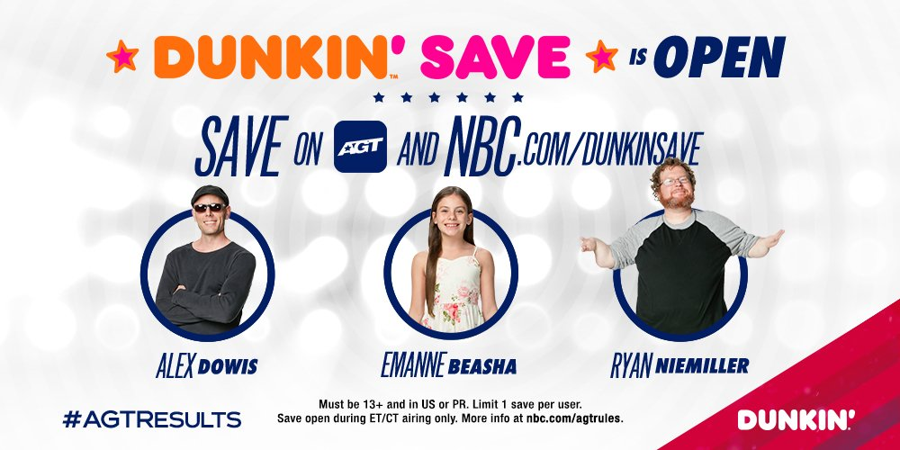 @AGT's photo on #DunkinSave