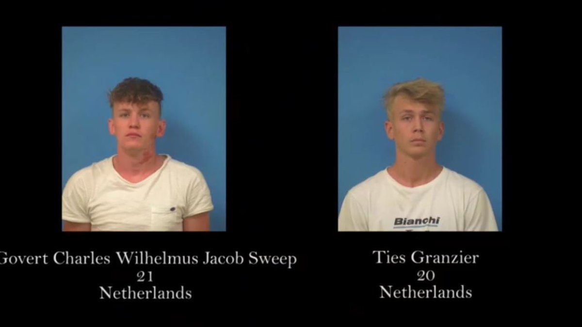 #BREAKING: two men from the Netherlands arrested for trespassing at Nevada National Security Site close to #Area51 government site. (Updated from previous tweet)<br>http://pic.twitter.com/Bq6GrBwjHG