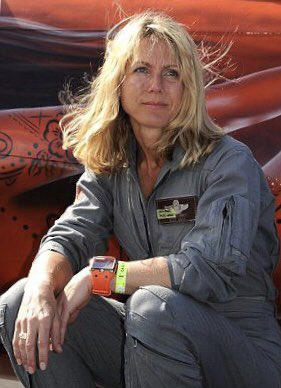 """A #September11 story I was unaware of before today: Heather """"Lucky"""" Penney was an F-16 pilot at Andrews AFB that day. After the #TwinTowers and #Pentagon were hit, she flew to intercept #United93, taking off w/o any weapons on a kamikaze mission. Ice in those veins — what a hero! <br>http://pic.twitter.com/uWwsXgalM9"""