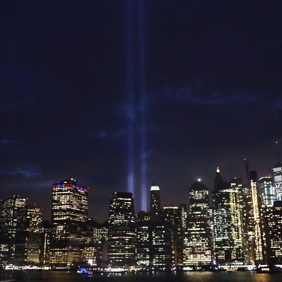 Emotional day in NYC. Never forget the innocent lives lost 18 years ago. Never forget the heroes who stepped in. Never forget their bravery. Remember them today and every day. #NeverForget #torresgemelas #11Sep <br>http://pic.twitter.com/V1kgZGFvKC