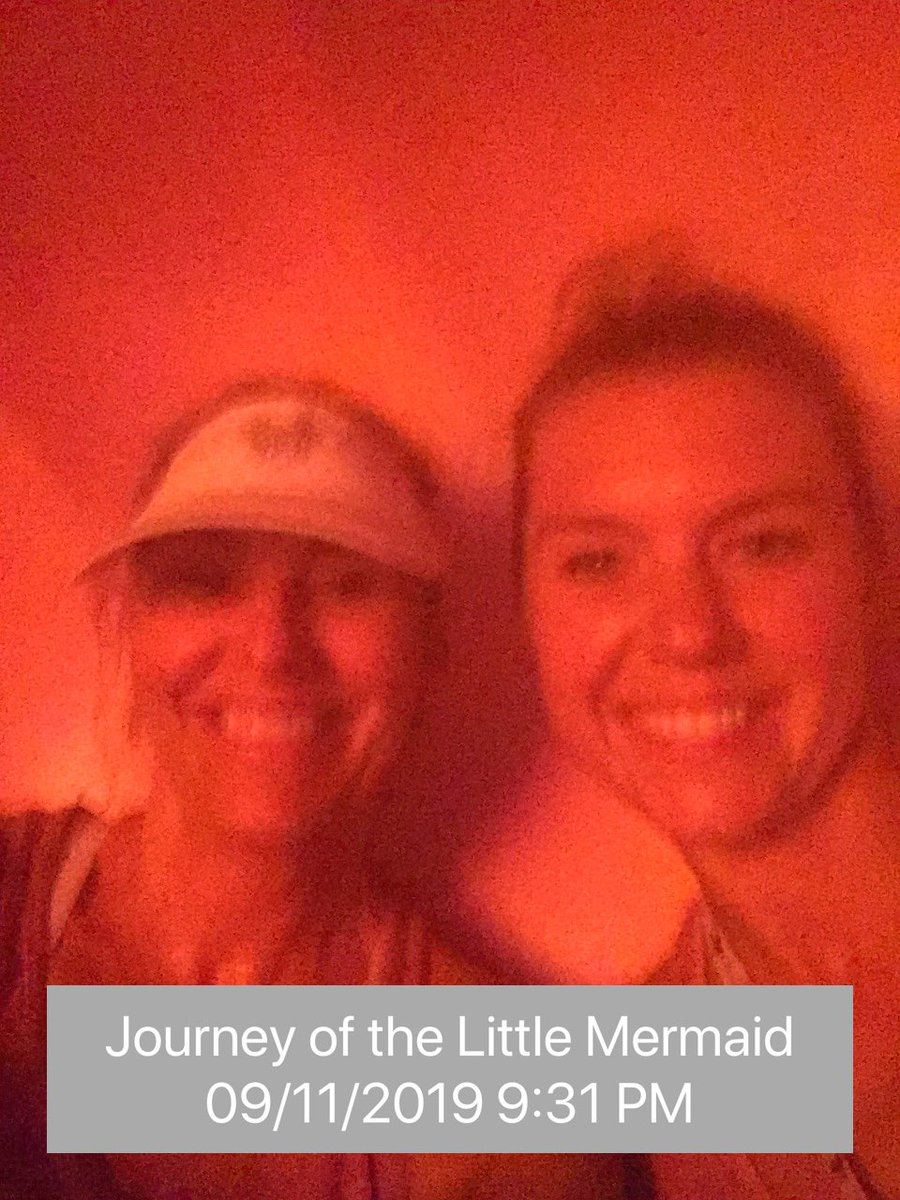 Ride 44: Journey of the Little Mermaid at 9:31 PM #parkeologychallenge @Parkeology @happilyrunafter<br>http://pic.twitter.com/YhVXQFJISz