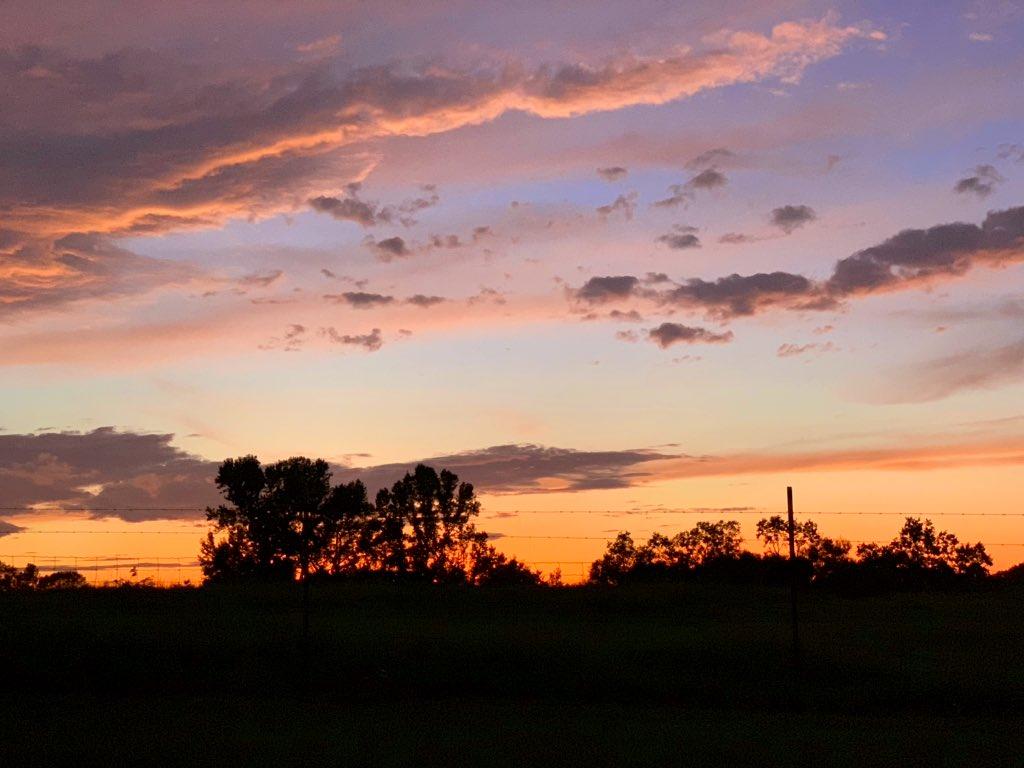 Louisiana Featuring A Beautiful Sunset