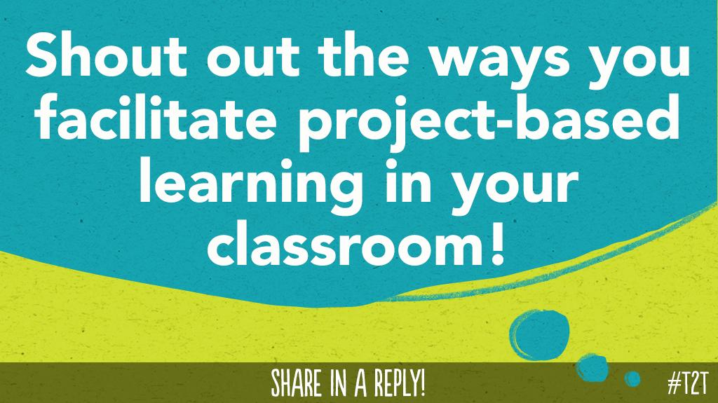 What steps might a new T take toward building a #ProjectBasedClassroom? #HackLearning #PBLchat #TLAP #InstantPD<br>http://pic.twitter.com/FlvoxtWPgN