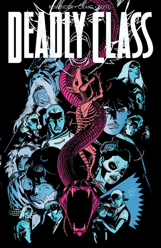 History repeats itself. New story begins in 2 weeks. #deadlyclass